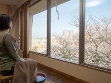 大きな窓から最高の景色をお楽しみいただけます。