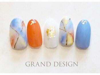 グランドデザイン 大垣店(GRAND DESIGN)/タイダイネイル