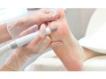 健康的な自爪を育成するハンドケア・フットケアのみも大歓迎です
