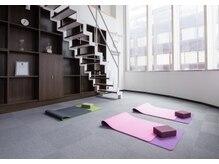 シュシュ エステティックアンドヨガ(chouchou esthetique&yoga)の雰囲気(運動は絶対不可欠!!!体の中から美しいボディ作りにアプローチ)