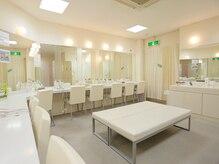 ホットヨガスタジオ オー 銀座店/清潔なロッカールーム