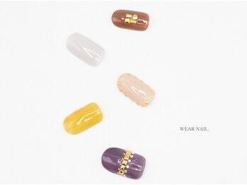 ウェアネイル(WEAR NAIL.)/スタッズデザインネイル¥9350