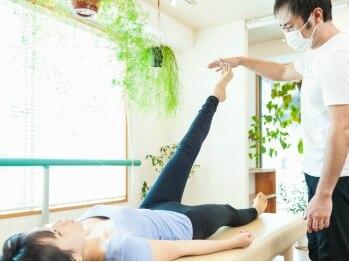 松山美容整体院の写真/「ズボンのサイズが太ももで決まる」「ヒップラインが下がってきた」とお悩みの方はぜひ体験を。