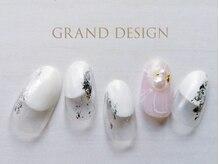 グランドデザイン 岐阜店(GRAND DESIGN)/ニュアンスパールネイル