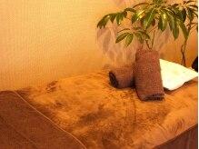 エーアジア(a asia)の雰囲気(アジアンテイストでゆっくりとリラックスできる施術ルーム。)