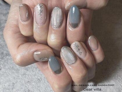 ネイルサロンクリアヴィラ(nail salon clear villa)の写真