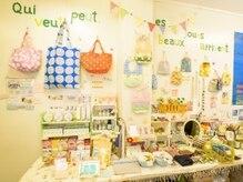 雑貨アンドリラクゼーション サパン 中野(Sapin)の雰囲気(可愛い手作り仏雑貨に囲まれた店内はカラフルで癒されます♪)