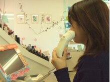 コスメティック アトリエ 朋美の雰囲気(肌診断機器にて肌の元気度をcheck☆肌状態に合わせてお手入れ!)