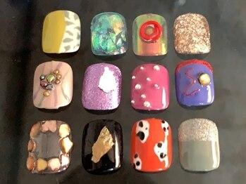 スパイス(spice)の写真/これからの季節にぴったり◎【foot gel free design ¥9900】足元を華やかに演出して貴方の足元を彩ります!