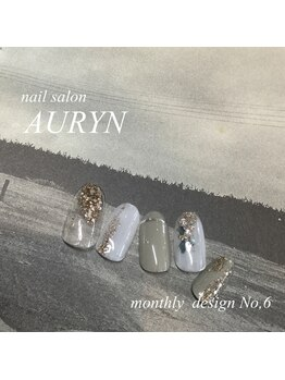 アウリン(AURYN)/4月限定 monthly design No,6