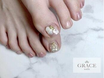 グレース ネイルズ(GRACE nails)/ストーンネイル