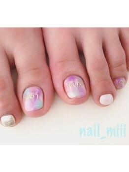 nail miii & eyelush【ネイルミーアンドアイラッシュ】(hair+resort valentine)_デザイン_03
