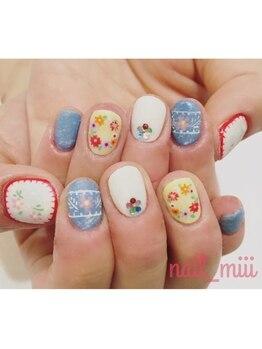 nail miii & eyelush【ネイルミーアンドアイラッシュ】(hair+resort valentine)_デザイン_06