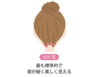 ジェニファーニューヨーク コザ店/襟足デザイン【MW型】