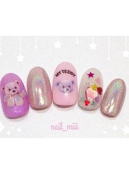 nail miii & eyelush【ネイルミーアンドアイラッシュ】(hair+resort valentine)_デザイン_08