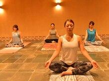 岩盤ヨガスタジオ バトゥバトゥ(batubatu)の雰囲気(天然の天照石を使った岩盤スタジオ。)