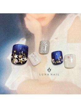 ルナ ネイル(LUNA NAIL)/【フット】スターギャラクシー