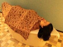 ココシープの雰囲気(ハーブの蒸気で体の内側から温めるイスラム伝統のハマム浴!)