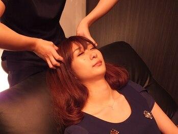 仙豆のちから 新栄店の写真/話題のドライヘッドスパを体験してみませんか?疲れやすい頭と首を入念に♪