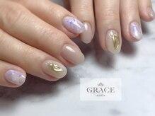 グレース ネイルズ(GRACE nails)/天然石ネイル