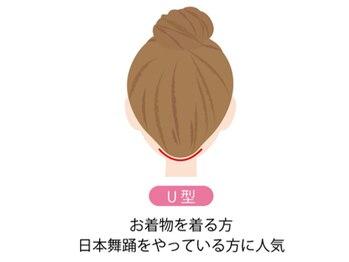 ジェニファーニューヨーク コザ店/襟足デザイン【U型】