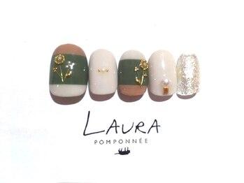 ローラポンポニー(Laura pomponnee)/秋色フラワー