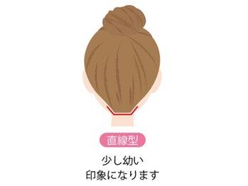 ジェニファーニューヨーク コザ店/襟足しデザイン【直線型】