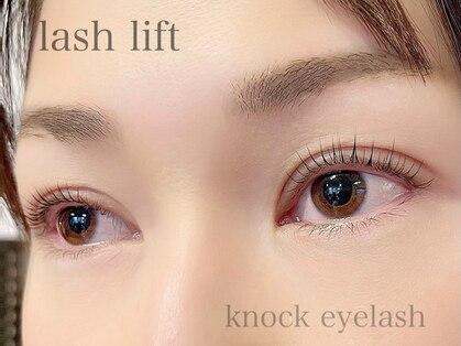 ノック アイラッシュ(knock eyelash)の写真