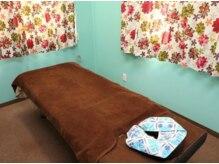 りんでんマニピ指圧治療院の雰囲気(完全個室の空間です)