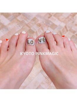 ピンクマジック(PINKMAGIC)/LOVEフットネイル