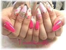 ピンク&ピンク★フラワー