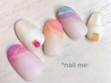 ネイルミー(nail me!)/ネイルUP!5月号掲載