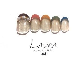 ローラポンポニー(Laura pomponnee)/オータムフレンチ