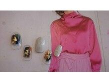 アース コアフュールボーテ 新潟紫竹山店(EARTH coiffure beaute)/アートネイル ¥6900