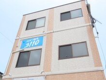 メンズ脱毛 3110R/1の雰囲気(こちらの建物です。鮮やかなブルーの看板が目印♪)