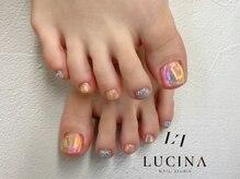 ネイルスタジオ ルキナ(LUCINA)/YM-374 1番人気フットデザイン