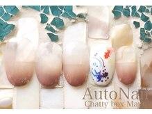 チャティーボックスマユ(Chatty box Mayu)/8月のシンプルデザイン