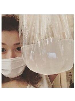 リジュベネーション専門サロン 桜梅桃李 神戸三宮店/大量の汗が、、