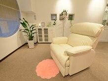 白を基調とした清潔感のある空間♪