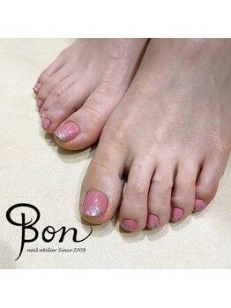 ネイルアトリエ ボン(nail atelier bon)/マニキュアネイル☆フットネイル