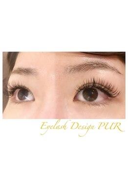 アイラッシュデザイン ピュール 鯖江店(Eyelash Design PUR)/眉WAX&フラットマットラッシュ