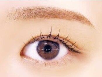 ビューティーアイラッシュ 柏店(Beauty eye lash)の写真/【まつ毛カール新登場★】美容液高配合でダメージレス!くるんと上向きまつげでビューラーいらず♪