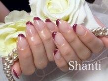 シャンティ ネイルサロン(Shanti nail salon)/大人の秋冬シンプルネイル☆