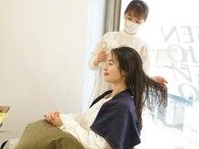 オルセン 表参道(OLSEN)の雰囲気(美容師のブロースタイリング込みなので、髪までキレイに。)