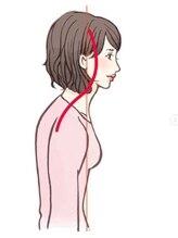スマホ首も改善☆腰痛・肩こりに