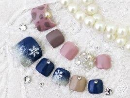 【雪の結晶アート】¥7000フット