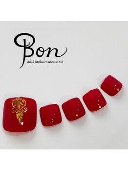 ネイルアトリエ ボン(nail atelier bon)/マニキュアネイル