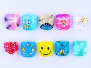 AXCEROSE nail&lash広尾駅上店_デザイン_09