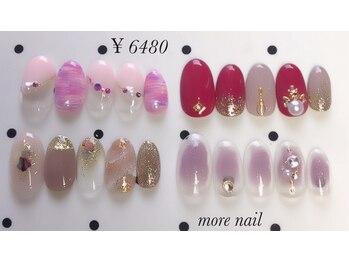 モアネイル(more nail)/9月定額デザイン¥6480