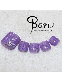 ネイルアトリエ ボン(nail atelier bon)/フットネイルサンプル